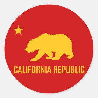 California Republic Sticker