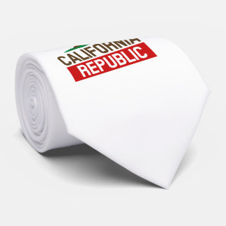 California Republic style Neck Tie