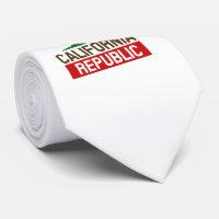 California Republic style Tie