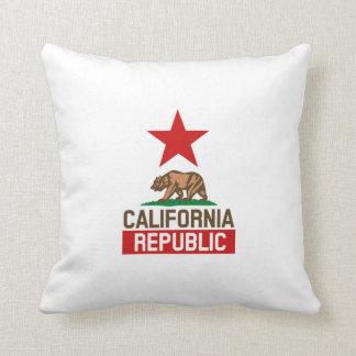 California Republic Throw Pillow