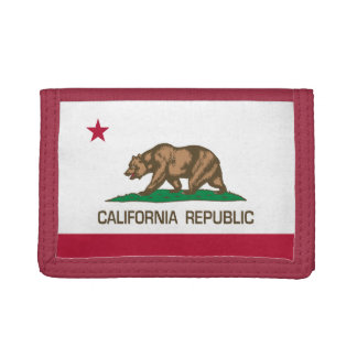 California Republic Tri-fold Wallet