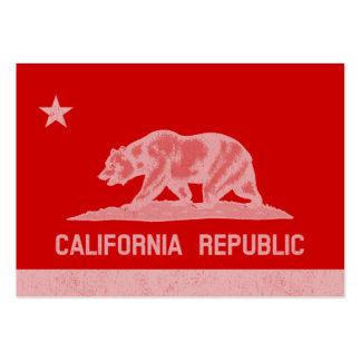 California Republic (White) Business Card