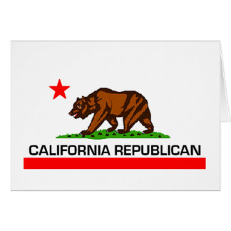 California Republican Card
