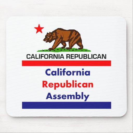 California Republican CRA Mousepad