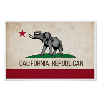 California Republican GOP Poster