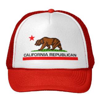 California Republican Trucker Hat