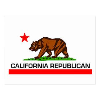 California Republican Postcard