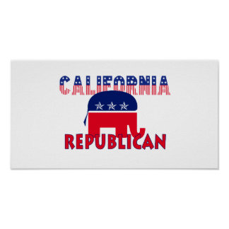 California Republican Poster