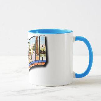 California retra taza