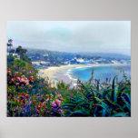 California Riviera del Laguna Beach Poster