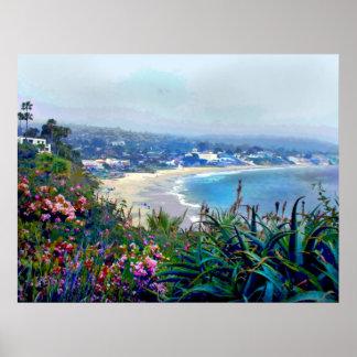 California Riviera of Laguna Beach Posters