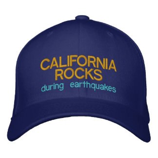 CALIFORNIA ROCKS - Customizable Baseball Caps +