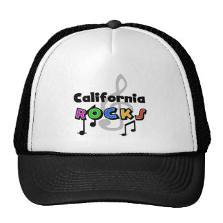 California Rocks Trucker Hat