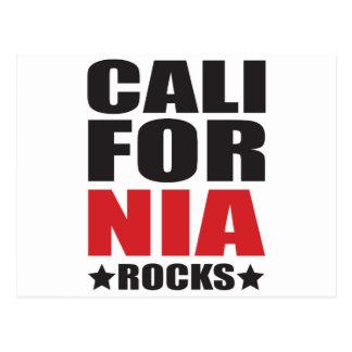 California Rocks! State Spirit Gifts and Apparel Postcard