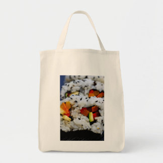 California Roll Sushi Grocery Tote Bag