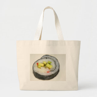 California Roll Sushi Large Tote Bag