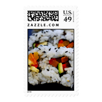 California Roll Sushi Postage