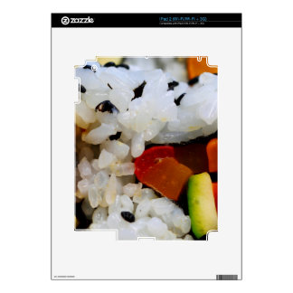 California Roll Sushi iPad 2 Skin