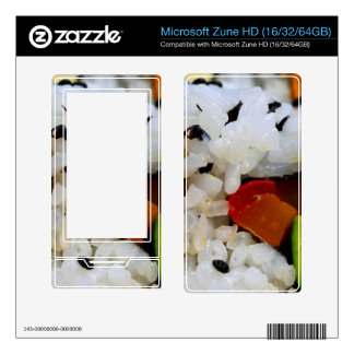 California Roll Sushi Decals For Zune HD