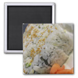 California Roll - Vegetarian Sushi Fridge Magnet