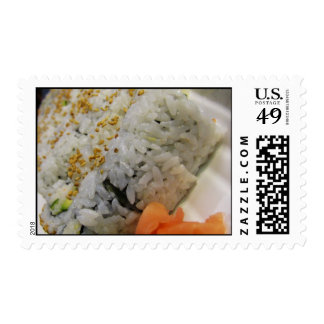 California Roll - Vegetarian Sushi Stamp