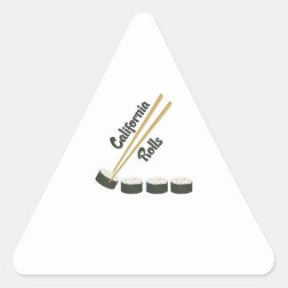 California Rolls Triangle Sticker