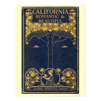 California, Romantic and Beautiful Vintage Postcard
