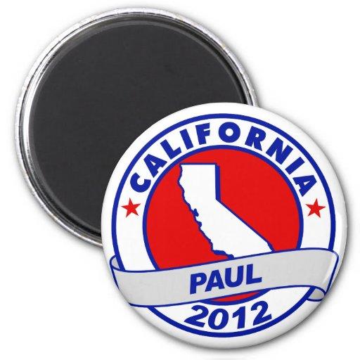 California Ron Paul 2 Inch Round Magnet