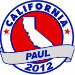 California Ron Paul Acrylic Cut Outs