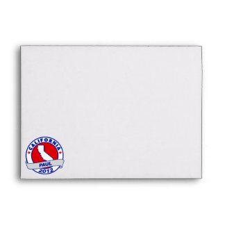 California Ron Paul Envelopes