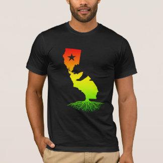 California Roots (Rasta surfer colors) T-Shirt