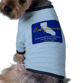 California Camisas De Mascota