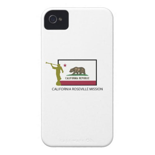 CALIFORNIA ROSEVILLE MISSION LDS CTR iPhone 4 CASES