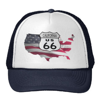 California Route 66 Trucker Hat