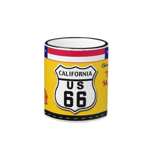 California - ruta 66 taza