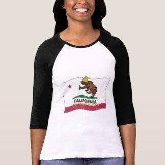 California sabe ir de fiesta el oso camiseta