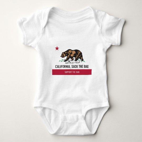 California, Sack the Bag Baby Bodysuit