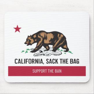 California, Sack the Bag Mousepads