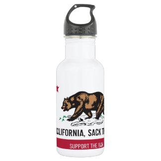 California, Sack the Bag 18oz Water Bottle