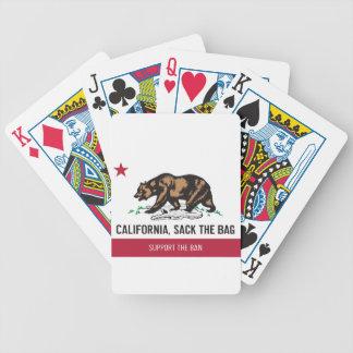 California, Sack the Bag Card Deck