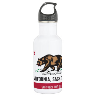 California, Sack the Bag Stainless Steel Water Bottle