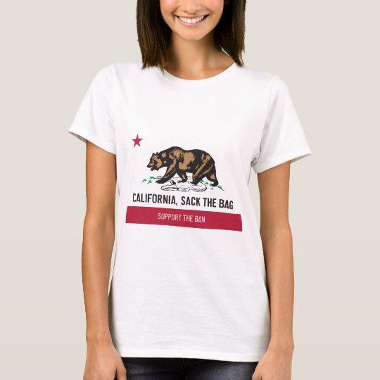 California, Sack the Bag T-Shirt