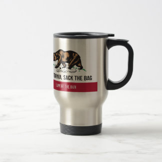 California, Sack the Bag Travel Mug