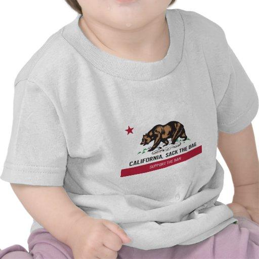 California, Sack the Bag Tshirt