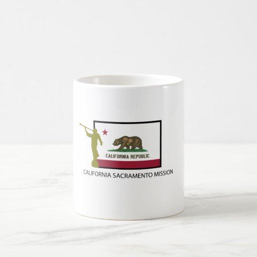 CALIFORNIA SACRAMENTO MISSION  LDS CTR COFFEE MUG