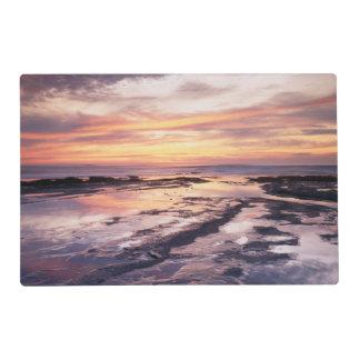 California, San Diego, Sunset Cliffs, Sunset 1 Placemat