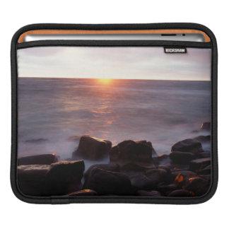 California, San Diego, Sunset Cliffs, Sunset 2 iPad Sleeve
