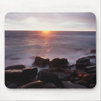 California, San Diego, Sunset Cliffs, Sunset 2 Mouse Pad
