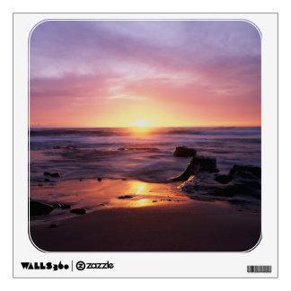 California, San Diego, Sunset Cliffs, Sunset 4 Wall Decal