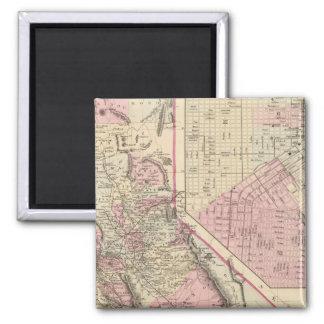 California, San Francisco Fridge Magnets